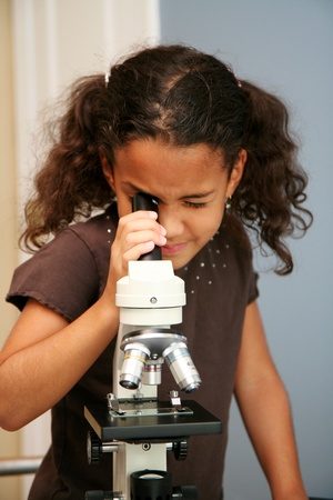 elementary school: Child at an elementary school