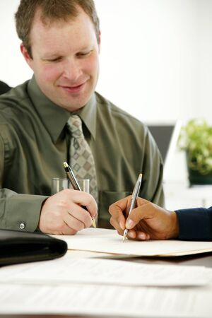 Businessman in his office Stock Photo - 13299110