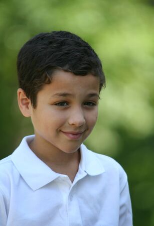 happieness: Young boy outside