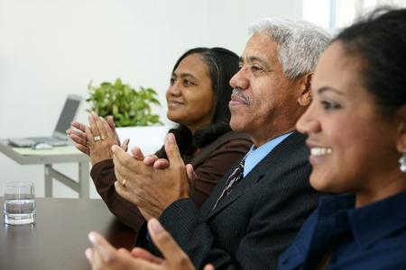 boardroom meeting: Team in an office
