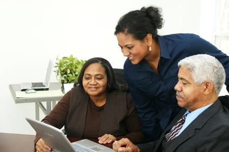 Business Team in Office Banco de Imagens