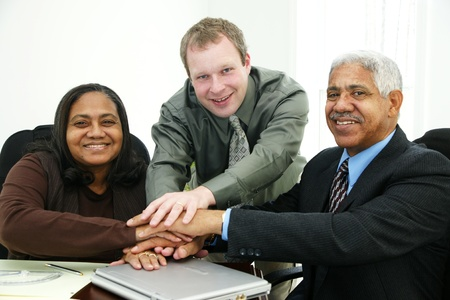 Business Team in Office Stock Photo - 13296356