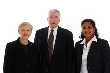 Business team working together in their office Stock Photo - 13301680