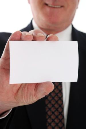 Senior business man on a white background Stock Photo - 13301858