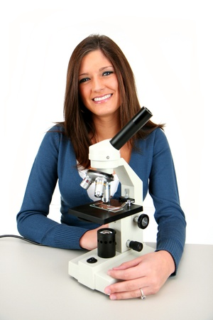 labratory: Woman in a lab