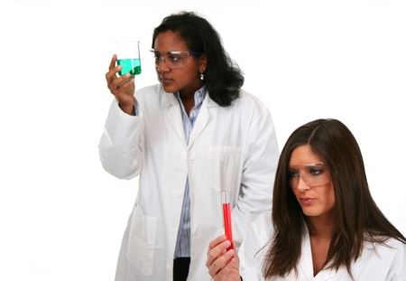 labratory: Team of workers in a lab