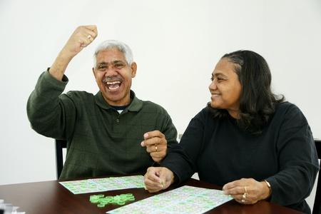 Playing Bingo Stock Photo - 13414155