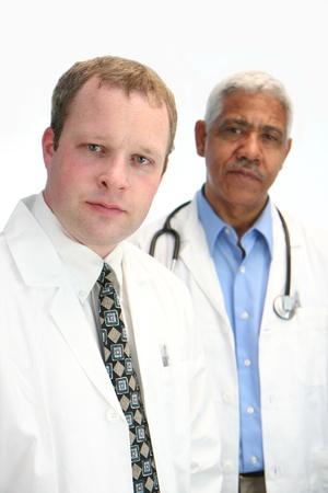 Hospital staff set on white background Stock Photo - 13412572