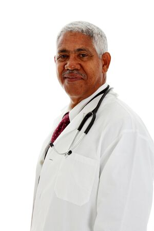 minority: Minority Doctor Set On A White Background