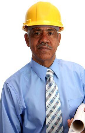 Construction worker on the job 版權商用圖片