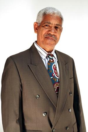 m�s viejo: Hombre de negocios en un ambiente informal plantean