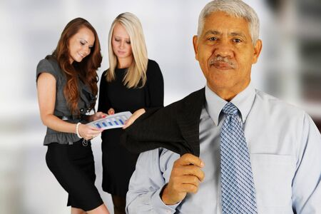Business Team of Mixed Races at Office Stock Photo - 14032629