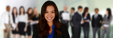 Business Team of Mixed Races at Office Stock Photo - 26979043