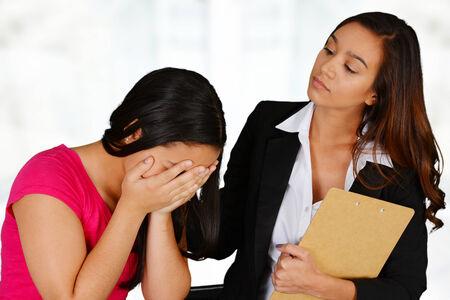 psicologia infantil: Persona que necesita tener una sesión de asesoramiento