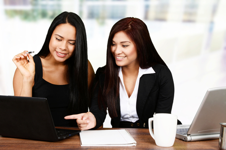 woman work: Businesswomen at the office ready to work