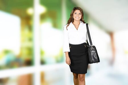 women business: Business woman at the office ready to work Stock Photo