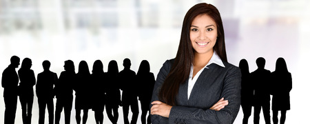 company person: Confident businesswoman who is ready for work