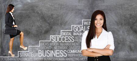 Confiant d'affaires qui est prêt pour le travail Banque d'images