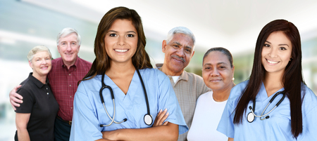 Nurse who is working her shift in a hospital Reklamní fotografie