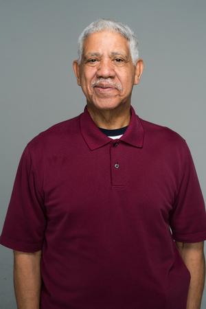 Elderly hispanic senior citizen man in a portrait Foto de archivo - 98836915