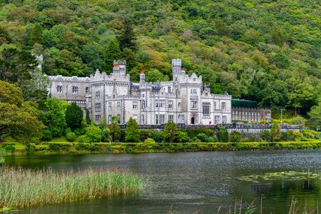 Kylemore Abbey In Ireland During The Summer