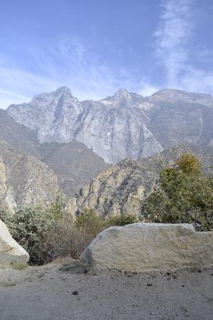 kings canyon national park: Sierra Nevada (CA) at the Kings Canyon National Park Stock Photo