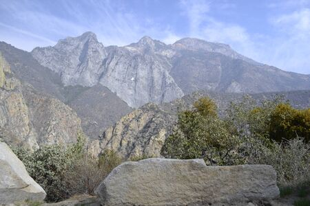 kings canyon national park: Sierra Nevada (CA) at the Kings Canyon National Park Stock Photo