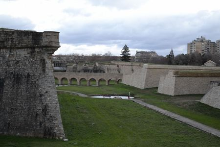 Pamplonas walls are one of the best preserved of all Europe built in the XVI century photo