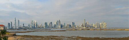 panama city: Panorama of Panama City
