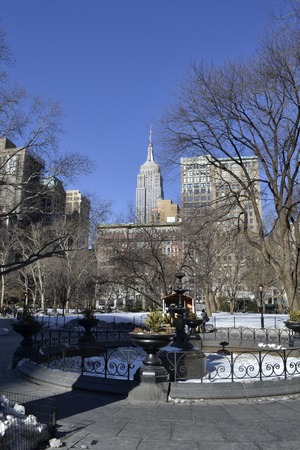 5th: Madison square park located on the 5th avenue has impressive views of the Empire State Building and the Flatiron Building