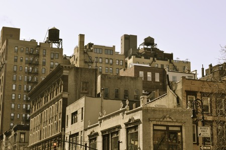 potable: Water tower are iconic in NYC and their function is the distribution of potable water and providing emergency storage for fire protection