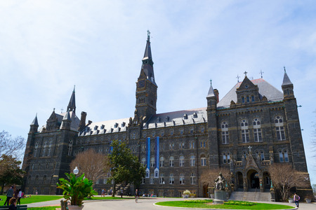 Georgetown University was founded by John Carrol in 1789 Éditoriale