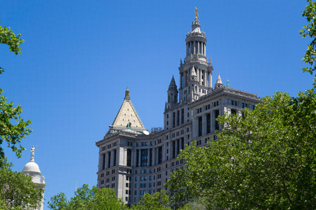 boroughs: Municipal building is one of the largest govermental buildings in the world