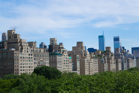 sky scrapers: The rooftop terrace of the MET has probably the best views of Central Park.
