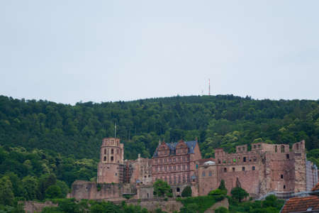 heidelberg: Built in the XII century oversees Heidelberg from the mountain
