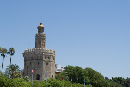 fortify: Torre del oro Tower of Gold was constructed in the first third of the 13th century and served as a prison during the Middle Ages