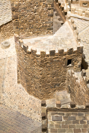 corbel: Located in a hill in the town of Javier Spain was built in the 10th century