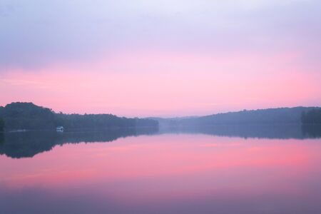ontario: Sunrise from a lake in Ontario