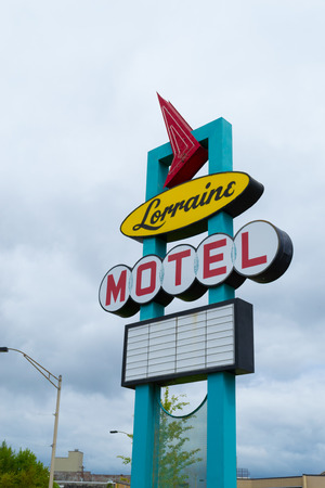 gun room: Picture of the Lorraine Motel where Martin Luther King was killed