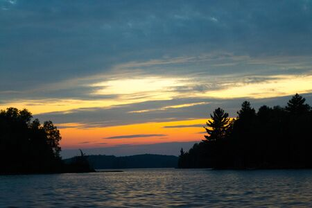 dick: Sunset by Dick lake in Ontraio Canada