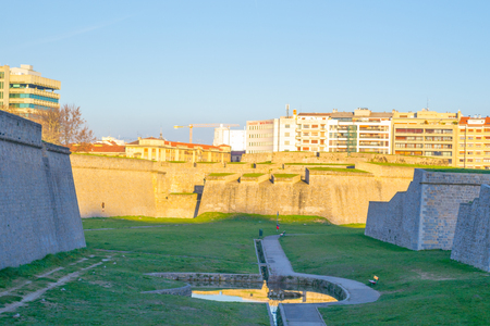 vigilance: Citadel of Pamplona constructed between XV and XVI centuries  as a defensive structure Editorial