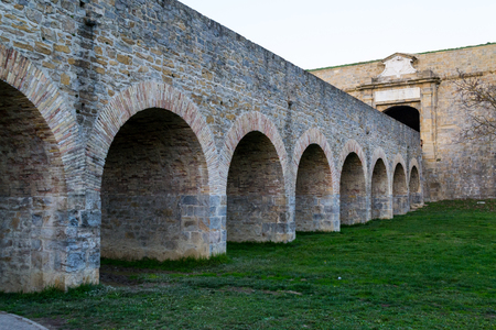 xvi: Citadel of Pamplona constructed between XV and XVI centuries  as a defensive structure Stock Photo