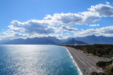 Antalya is a city in the South of Turkey by the Mediterranean sea