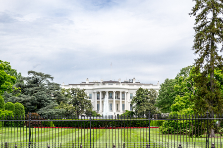 eisenhower: Designed by James Hoban, the White house is located in the National Mall in Washington DC