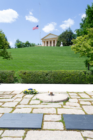 gravesite: Arlington National Cemetery is the most iconic military cemetery in the US Editorial