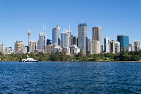 Financial district (CBD) in Sydney