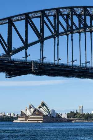 domain: Sydney Opera house and Harbor Bridge are the most iconic monuments in Sydeny