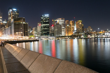 Central business center in Sydney is the main commercial center of Australia Banco de Imagens - 64489690