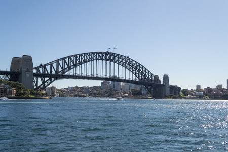 domain: Sydney Harbor bridge, a main touristic attraction in sydney Editorial
