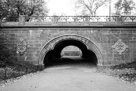 The name of Trefoil arch in Central Park (NYC)  indicates the three lobes of its shape
